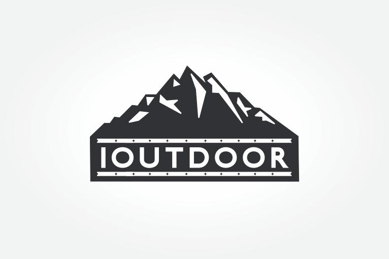 logotipu kurimas ioutdoor