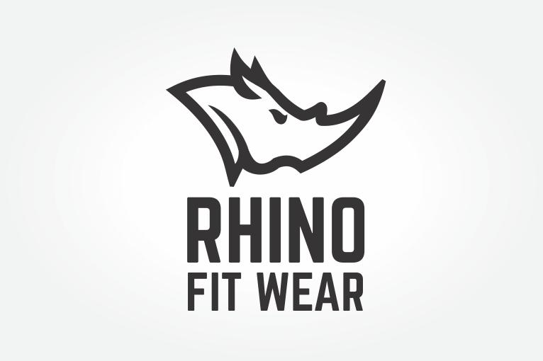 rhino logo kurimas