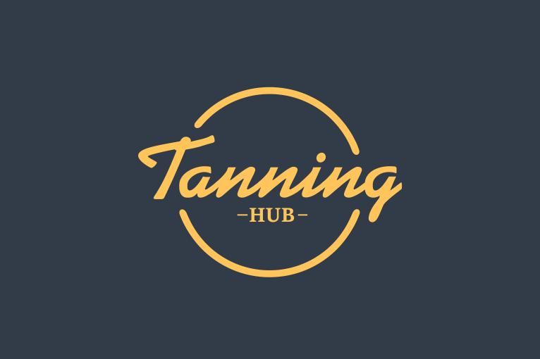 tanning logotipo kurimas