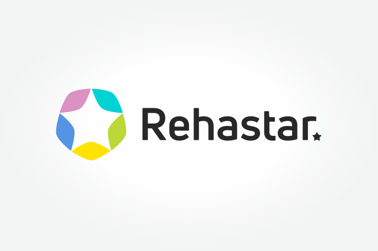 Rehastar logotipo kūrimas