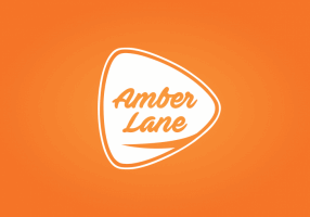 amber logotipu kurimas